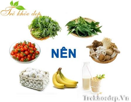 thực phẩm cho người cao huyết áp
