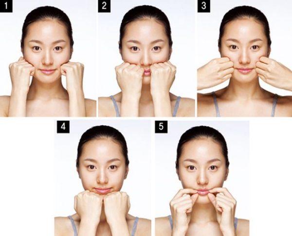 2 cách massage mặt đánh bay nếp nhăn
